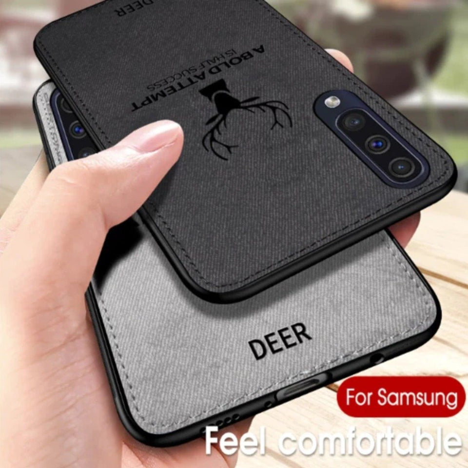 Galaxy A50s Deer Pattern Inspirational Soft Case