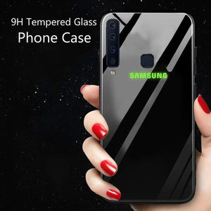 Galaxy A9 2018 Radium Glow Light Illuminated Logo 3D Case