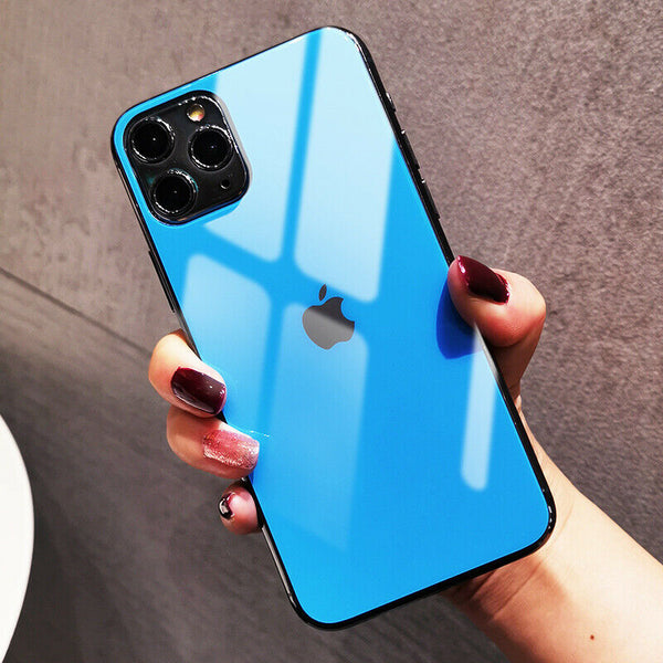 iPhone 11 Series Ultra-thin Matte Back Tempered Glass