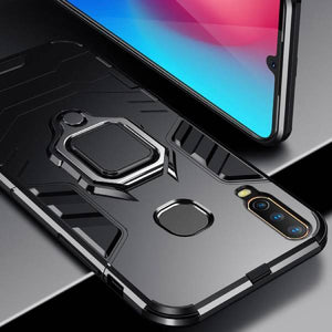 Vivo Y12 Ring Buckle Kickstand Case