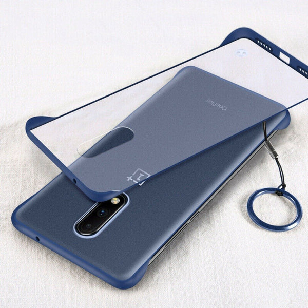 OnePlus 7 Pro Luxury Frameless Transparent Case