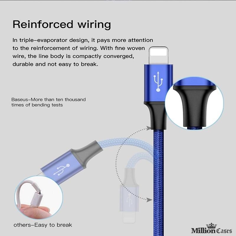 Baseus ® Type C Micro USB Charging Cable