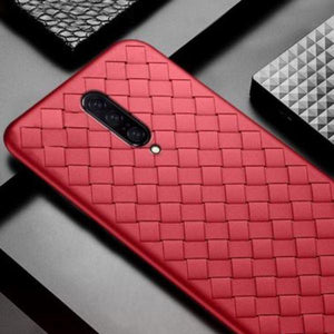 OnePlus 7T Pro Ultra-thin Grid Weaving Case