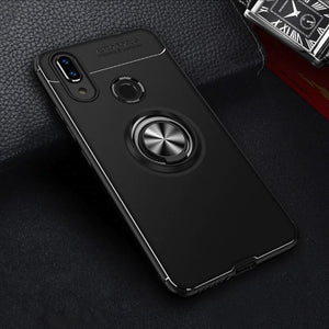 Oppo Realme 3 Pro Metallic Finger Ring Holder Matte Case