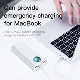 Baseus ® 20000mAh Amblight Quick Charger Portable Power Bank