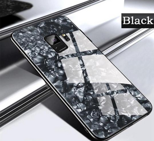 Galaxy S9 Dream Shell Textured Marble Case