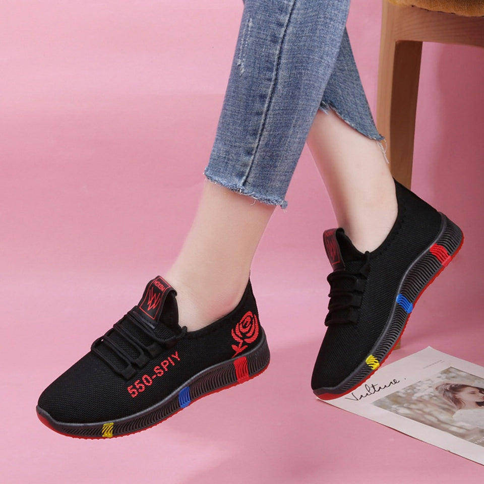 Breathable Mesh Casual Sneakers for Women
