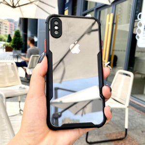 iPhone XS Shockproof Bumper Phone Case with Camera Protection
