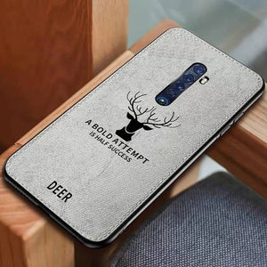 Oppo Reno 2F  Deer Pattern Inspirational Soft Case