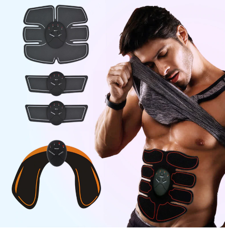 EMS Smart Fitness Abdominal Training Stimulator Unisex Massager