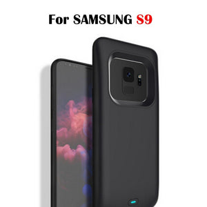 JLW® Galaxy S9 Portable 5000 mAh Battery Shell Case