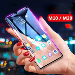 Galaxy M10 5D Tempered Glass Screen Protector