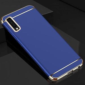 Galaxy A7 2018 Luxury Electroplating 3in1 Matte Case