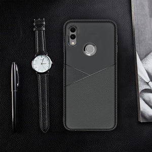 Galaxy M20 Business Leather Pattern TPU Soft Case