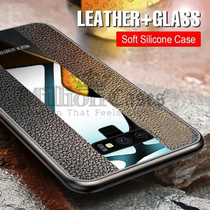 Galaxy Note 9 Auto Focus Plexiglass Porsche Design Case