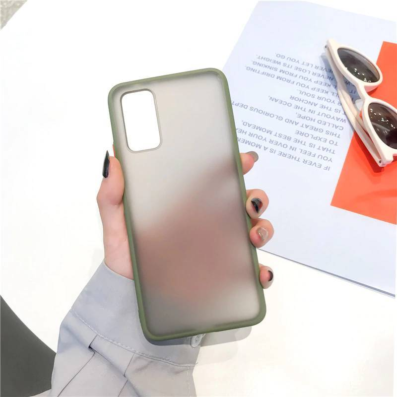 Galaxy S20 Plus Luxury Shockproof Matte Finish Case