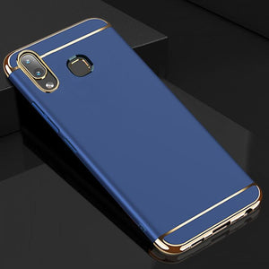 Galaxy A8 Star Luxury 3 in 1 Electroplating Matte Case
