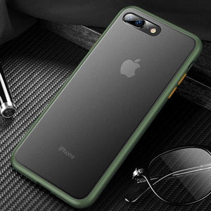iPhone 7 Plus Luxury Shockproof Matte Finish Case