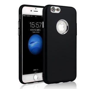 iPhone 6 Plus Soft Case with Metal Camera Lens Protection Case