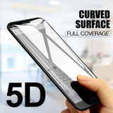 iPhone 7/7 Plus 5D Tempered Glass Screen Protector [100% Original]