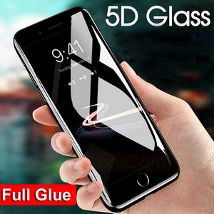 iPhone 7/8 5D Tempered Glass Screen Protector