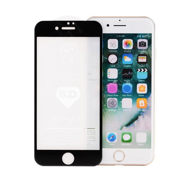 iPhone 8, 8 Plus 5D Tempered Glass Screen Protector [100% Original]