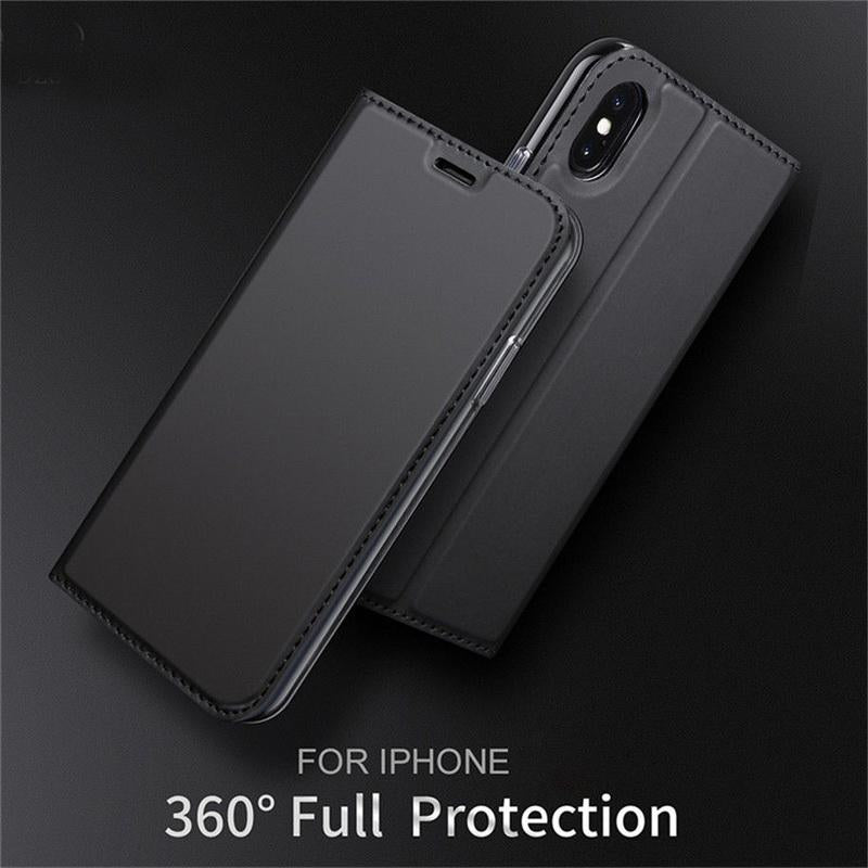 DZGOGO ® iPhone X/XS PU Leather Card Slot Flip Case