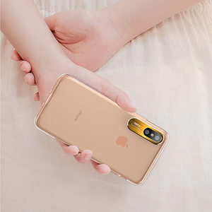 TOTU ® iPhone X Clear Camera Protective Case