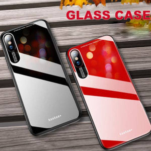 iPhone XS Luxury Soft Edge Acrylic Case