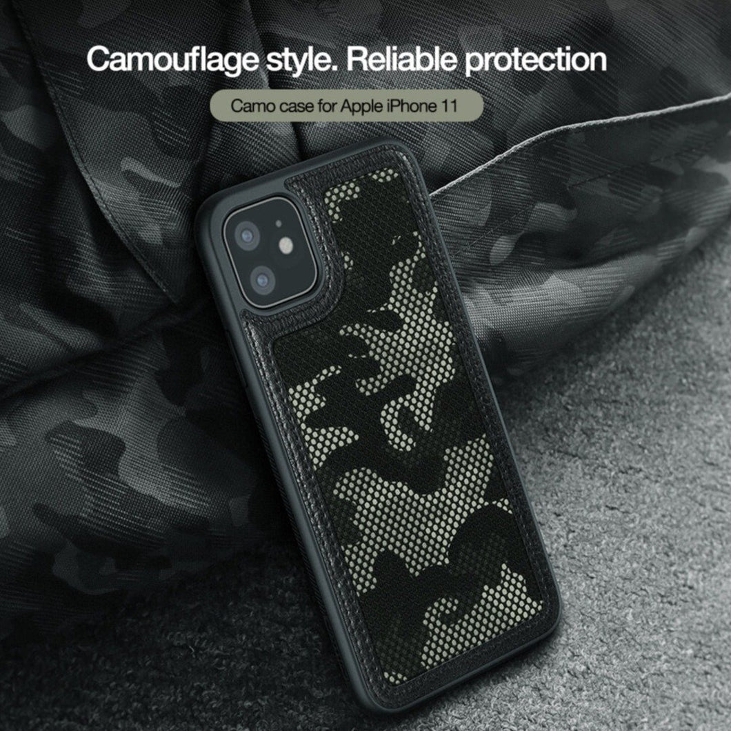 MK ® iPhone 11 Pro Max Nillkin Camouflage Pattern Cloth Case