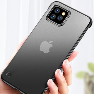 iPhone 11 Series Luxury Frameless Transparent Case