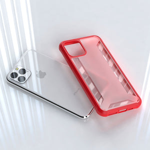 MK ® iPhone 11 Pro Max Henks Anti Shock Transparent Case