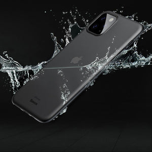 MK ® iPhone 11 Pro Max Baseus Ultra-Thin Matte Paper Back Case