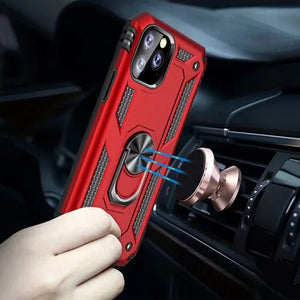 iPhone 11 Pro Max Hybrid Armor Ring Case