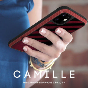 MK ® iPhone 11 Pro Max Raigor Inverse Camille Shockproof Business Case