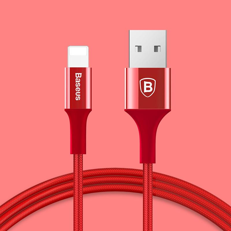 Baseus ® Shining Lightning Cable With Jet Metal
