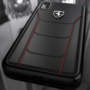 Ferrari ® iPhone X Genuine Leather Crafted Limited Edition Case