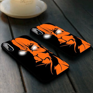 iPhone X/XS Lord Hanuman LED Laser Eyes Illuminated 3D Case