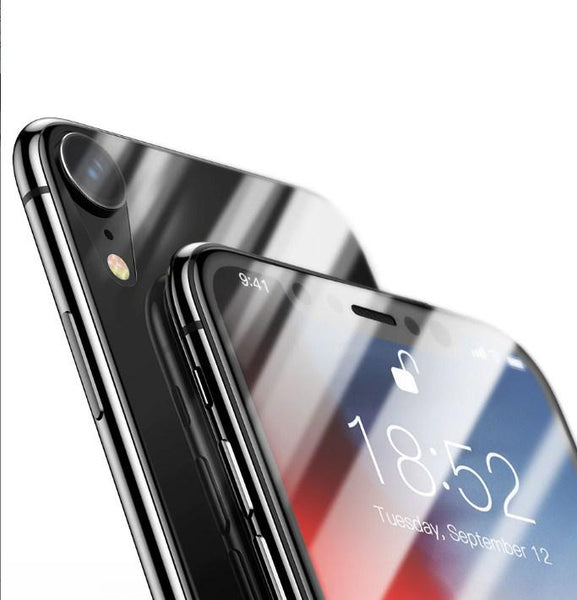 Baseus ® iPhone XR Ultra-thin Back Tempered Glass