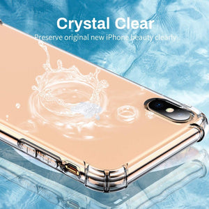 MK ® iPhone XR King Kong Anti Shock TPU Transparent Case