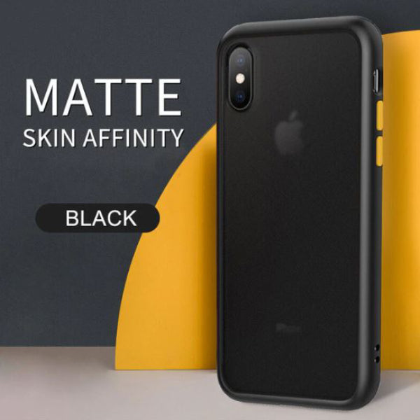 iPhone XS Luxury Shockproof Matte Finish Case
