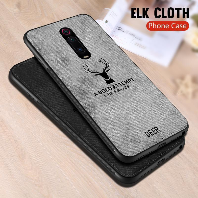 Redmi K20 Deer Pattern Inspirational Soft Case