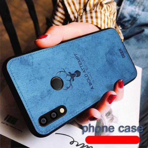 Galaxy M20 Deer Pattern Inspirational Soft Case