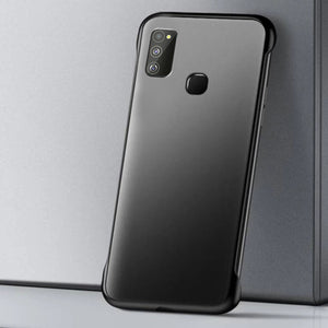 Galaxy M30s Luxury Frameless Transparent Case