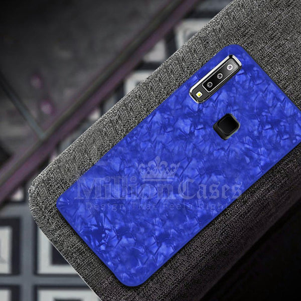 Galaxy M40 Dream Shell Series Textured Marble Case