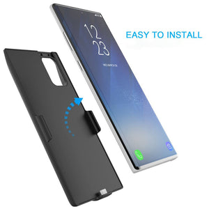 JLW ® Galaxy Note 10 Plus Portable 6000 mAh Battery Shell Case