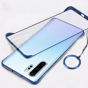 Galaxy Note 10 plus  Luxury Frameless Transparent Case