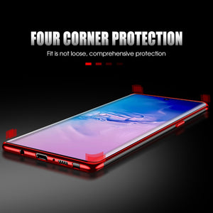Galaxy Note 10 Plus Electroplating Silicone Transparent Glitter Case