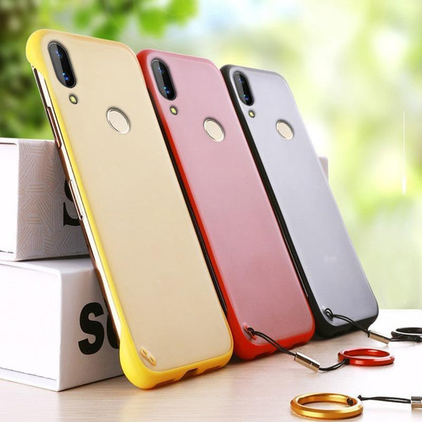 Redmi Note 7 Pro Luxury Frameless Transparent Case