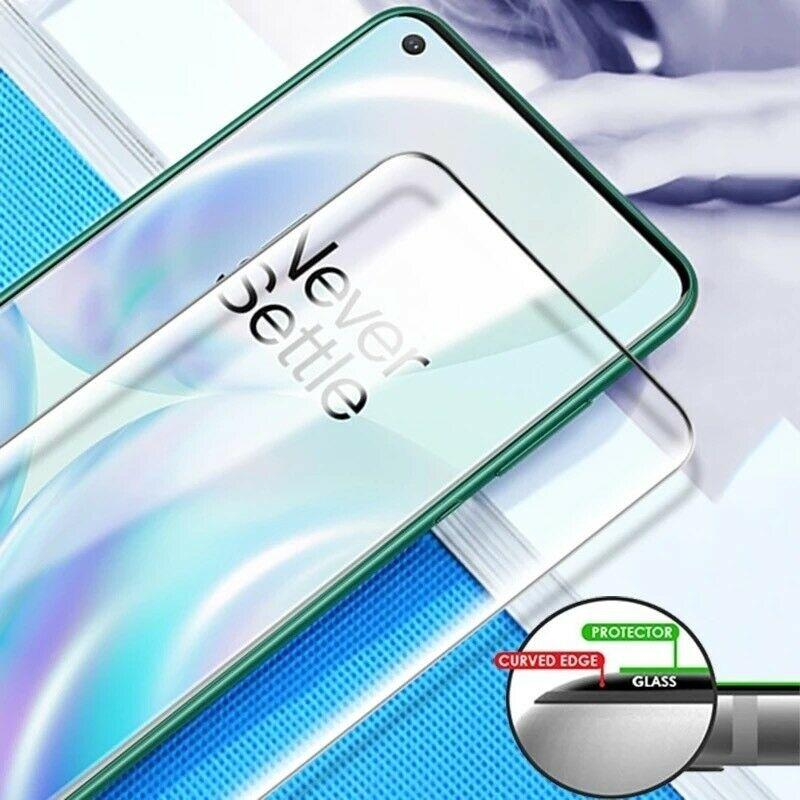 OnePlus 8 Pro Ultra HD Curved Tempered Glass